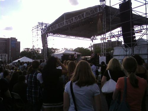 Mat Kearney at City Fest Detroit