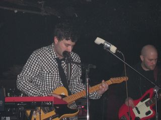 Josh Epstein on guitar, Mike Majewski on bass