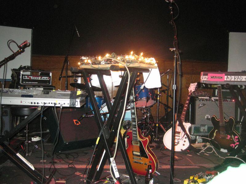The AdRad stage set-up