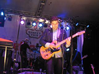 Josh Epstein on guitar