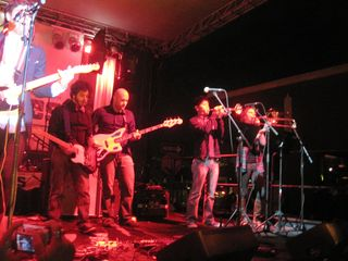 The Silent Years with horn section