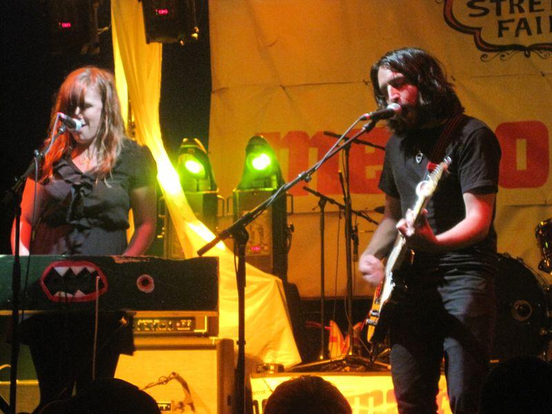 Augie & Korin at DIY Street Fair 2010