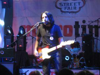 Augie Visocchi on guitar