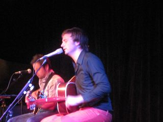 "Paul Noonan of Bell X1 performs ""I'll See Your Heart & I'll Raise You Mine"""