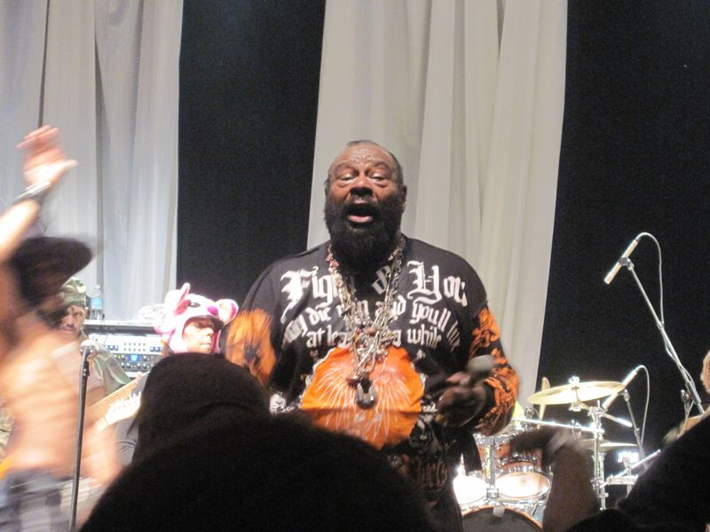George Clinton - Royal Oak Music Theatre 2-10-11