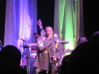 George Clinton in Royal Oak, Michigan 2-10-11