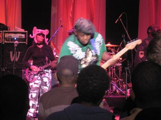 Michael Hampton of Parliament-Funkadelic 2-10-11