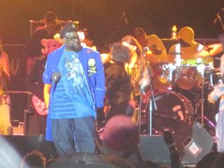 George Clinton onstage at Arts, Beats & Eats 2011