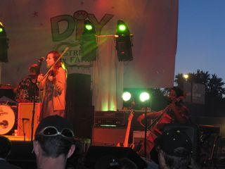 022 - Kinley Dowling & Romesh Thavanathan of Hey Rosetta! at DIY Street Fair 2011, Ferndale, MI