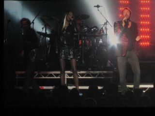 019 Simon Le Bon duets with Anna Ross on Safe at Caesar's Windsor 10-22-11