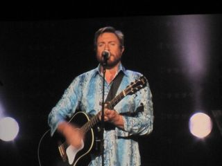 046 Simon Le Bon of Duran Duran performing Leave A Light On at Caesar's Windsor 10-22-11