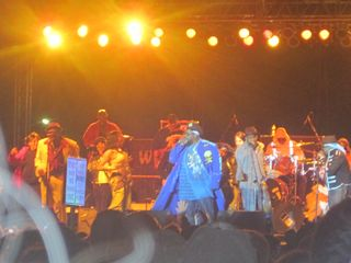 George Clinton & The P-Funk All-Stars at Arts Beats & Eats 2011 Royal Oak MI