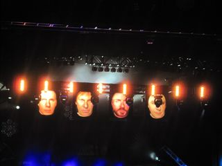 024 The video Duran Duran heads at Caesar's Windsor 10-22-11