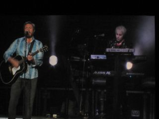 049 Simon Le Bon & Nick Rhodes of Duran Duran at Caesar's Windsor 10-22-11