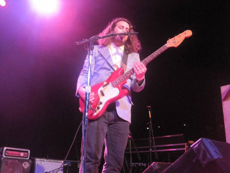 179 - Daniel Zott of Dale Earnhardt Jr. Jr. at the Majestic Theatre, Detroit 4-21-12