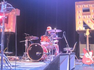 196 - Mike Higgins, drummer for Dale Earnhardt Jr. Jr. in Detroit 4-21-12