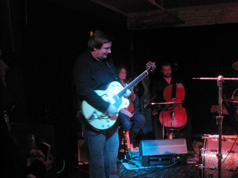 599 - Jon Sheard lead guitar for Brae 1-27-12 Pontiac, MI