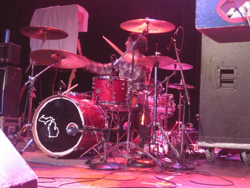 167 - Augie Visocchi of The Hard Lessons on the drums