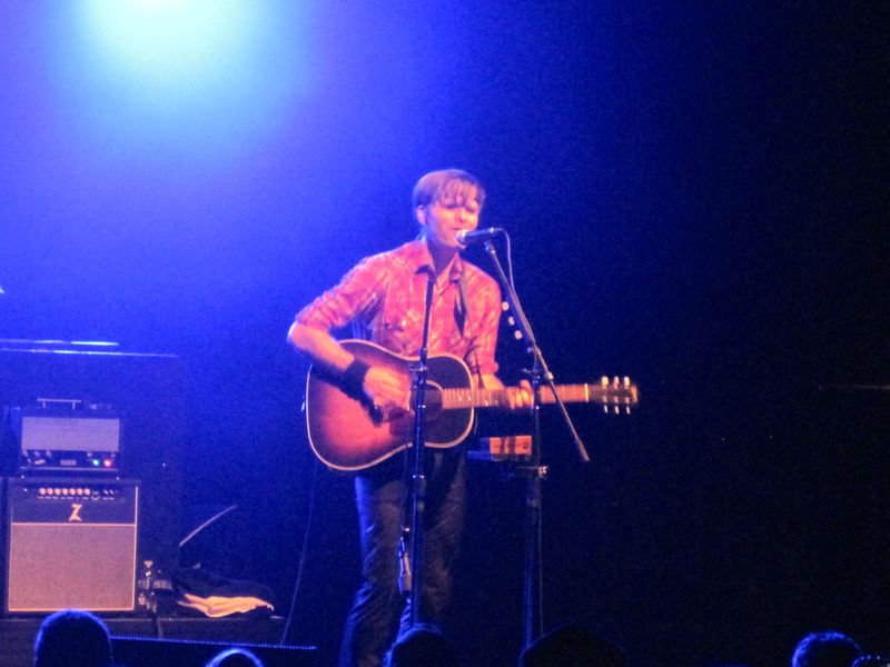 068 - Ben Gibbard of Death Cab For Cutie performs I Will Follow You Into The Dark in Michigan 7-4-12