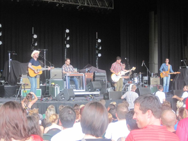 013 - City And Colour at Meadow Brook Music Festival, Rochester Hills, MI 7-4-12