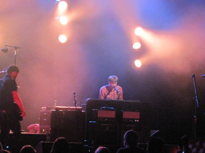 050 - Ben Gibbard on piano 7-4-12 at Meadow Brook, Rochester Hills, MI