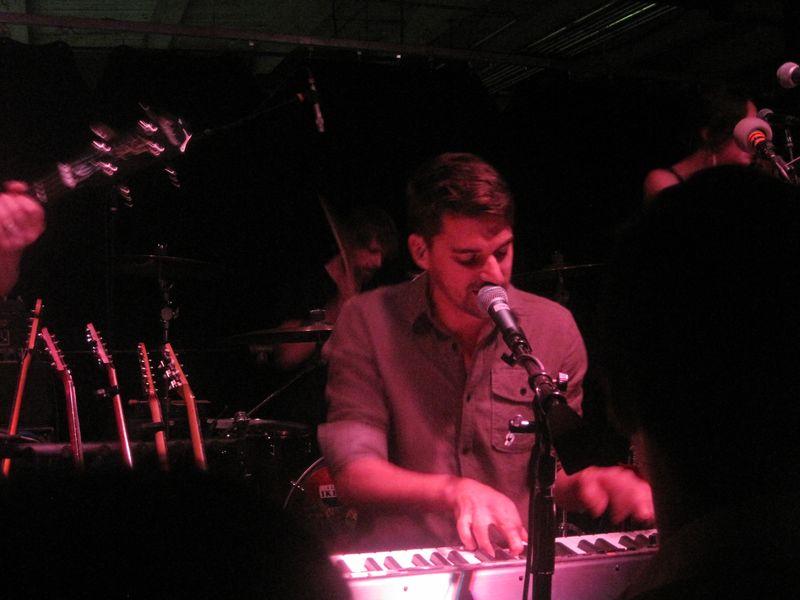 005 - Tim Baker of Hey Rosetta! at the Magic Stick Lounge, Detroit, Michigan 6-22-12