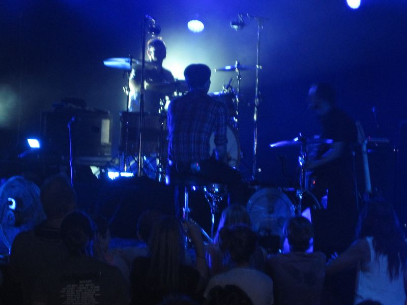 065 - Ben Gibbard of Death Cab For Cutie on drums 7-4-12 Rochester Hills, MI