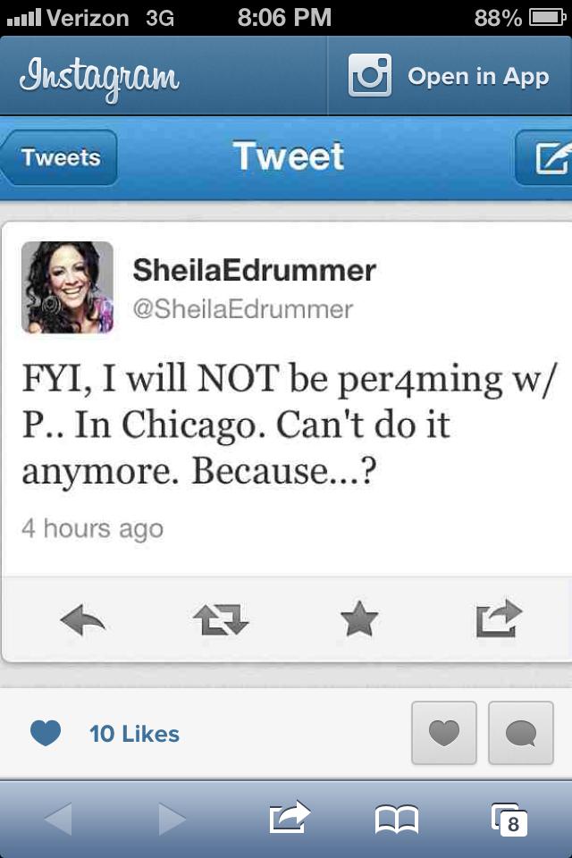 Sheila Tweet