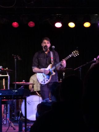 024 - Tim Baker of Hey Rosetta! on guitar at The Ark, Ann Arbor, Michigan 2-16-15